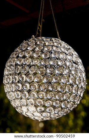 disco mirror ball - stock photo