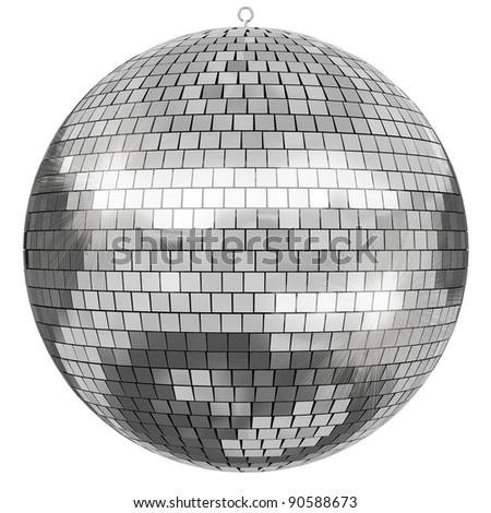 Disco Mirror ball - stock photo