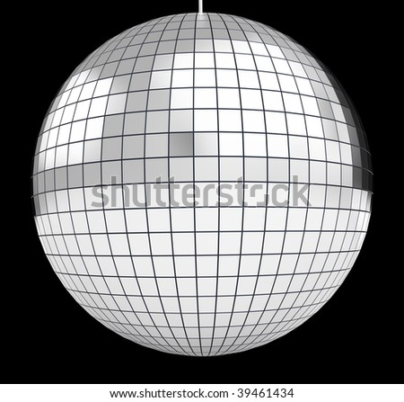 discoball - stock photo