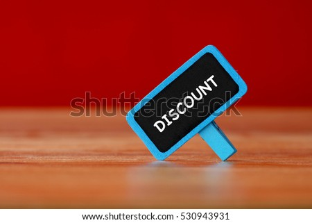 Discount, Business Concept