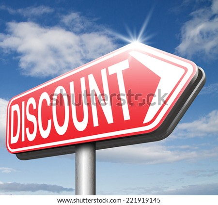discount lowest price special offer bargain and sales discount  label or sign  - stock photo