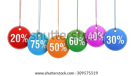 discount percentage numbers