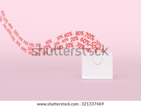 Discounts and Sales Concept - stock photo