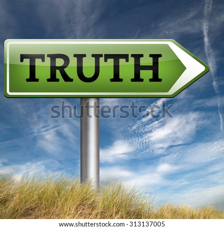 discover truth be honest honesty leads a long way find justice law and order