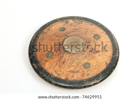 Discus from the fifties - stock photo