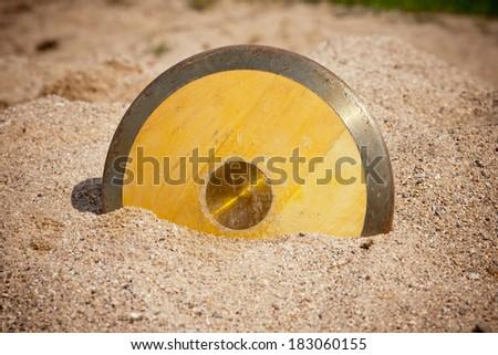 Discus throw - stock photo