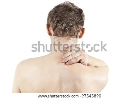 disease of the neck - stock photo