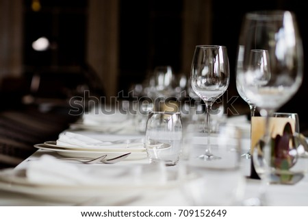 dish spoon fork on table at restaurant.dish spoon on table food