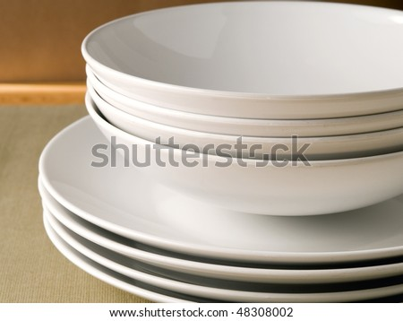 Dishes - stock photo