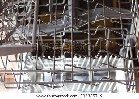 Dishwasher - stock photo