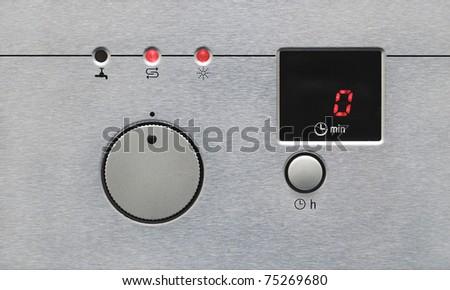 Dishwasher Control Panel - stock photo