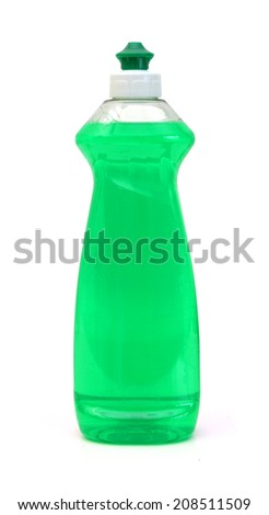 dishwashing liquid  - stock photo