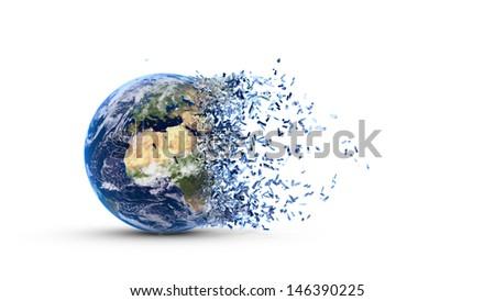 Disintegrate Clip Art
