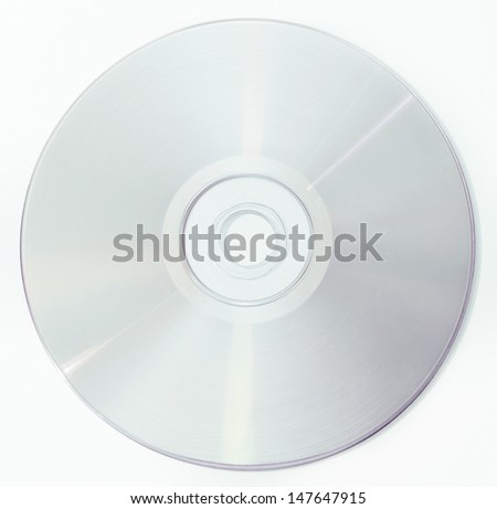 Disk - stock photo