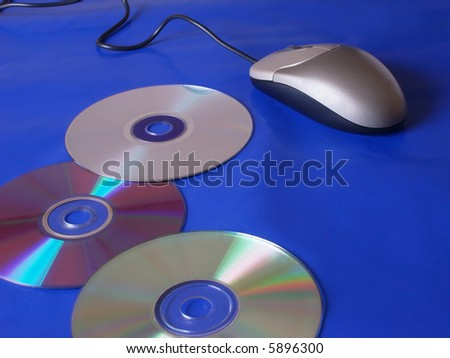 disk with mouse