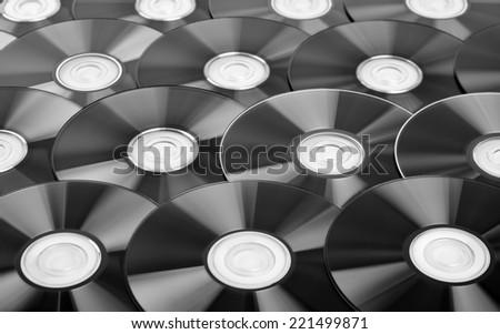 Disks background - stock photo