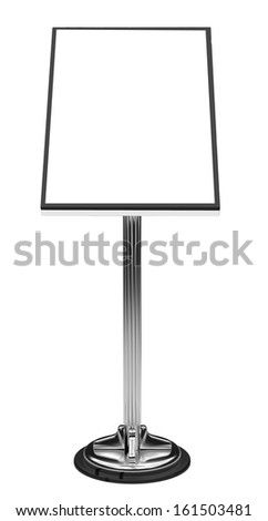 Display Advertising Stand - stock photo