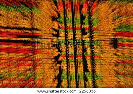 Display of stock market prices. - stock photo