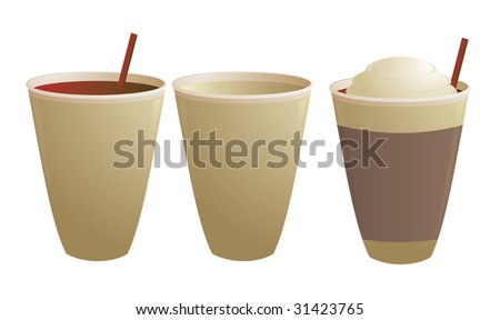 Disposable coffee cups - jpg version