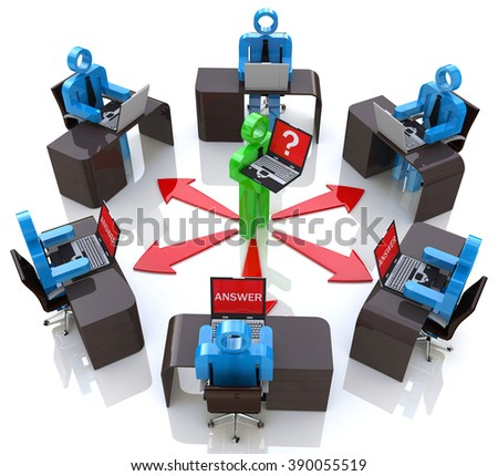 Distance or online training concept in the design of the information associated with professional quality results - stock photo