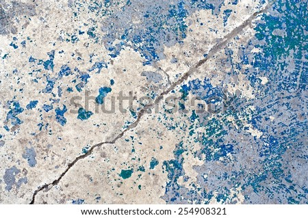 Distress cracked painted texture for your design. - stock photo