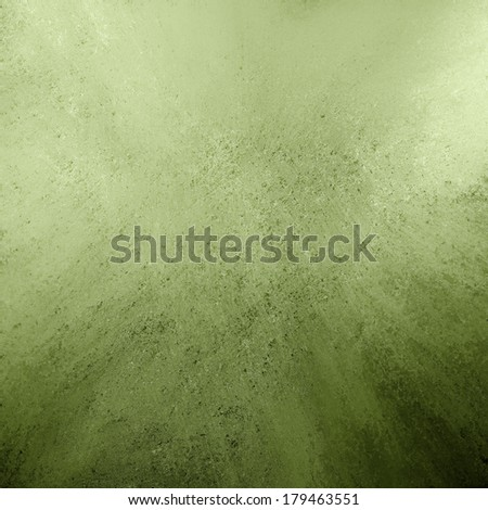 distressed green background with black vintage grunge background texture on border, smeared green painted wall for presentation background, green website or ad backdrop, dirty stained surface texture - stock photo