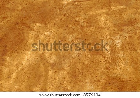 Distressed Metal for Background - stock photo