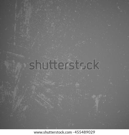 Distressed Overlay Texture. Empty Grunge Design Element. Retro Dirty Background. Gray Cement Driped Backdrop.