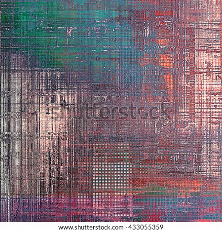 Distressed texture, faded grunge background or backdrop. With different color patterns: green; blue; red (orange); purple (violet); pink - stock photo