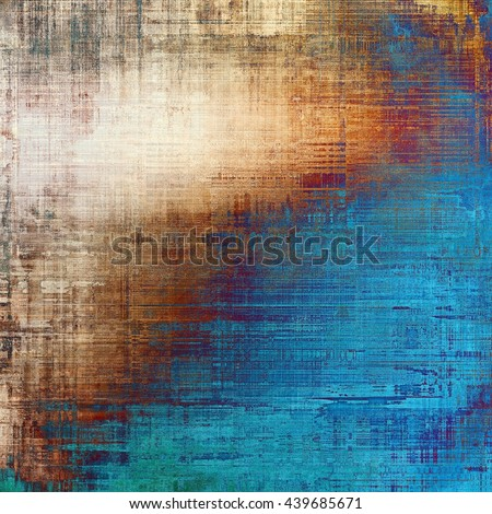 Distressed texture with ragged grunge overlay. Wrinkled background or backdrop with different color patterns: yellow (beige); brown; blue; red (orange); purple (violet); white - stock photo