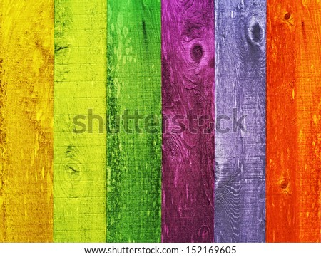 Distressed Vintage Grunge Wood Texture Background Design Color Trend Palette, Orange, Green, Melon, Coral, Powder Blue, Ink Blue