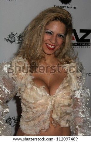 Dita De Leon at the Fashion Week Wrap Up Party Hosted by Donna D'Errico. Republic, West Hollywood, CA. 03-23-07 - stock photo