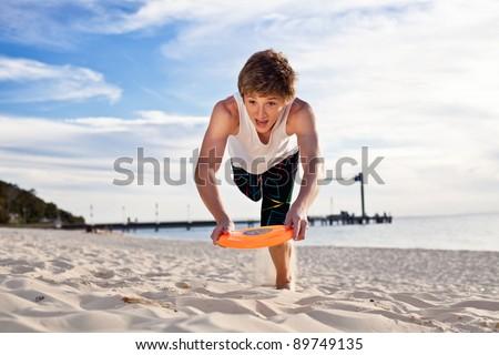 Dive - stock photo