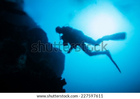 Diver Silhouette Stock Images Royalty Free Images Vectors Shutterstock