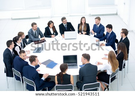 Diverse Business People Meeting Seminar Concept