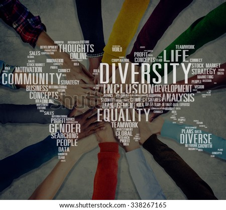 Diverse Equality Gender Innovation Management Concept - stock photo