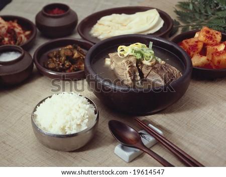 Diverse Food Essentials - stock photo