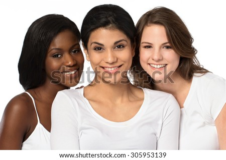 Diverse group of women - stock photo