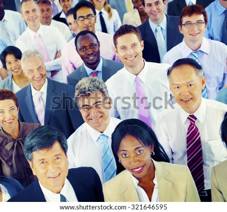 Diversity Business People Cooperate Team Community Concept - stock photo