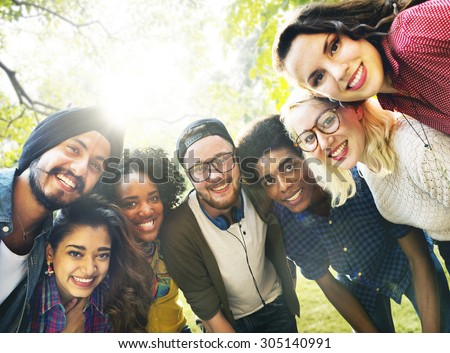 Diversity Friends Friendship Team Community Concept - stock photo