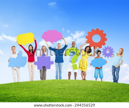 Diversity People Global Communication Creation Concept
