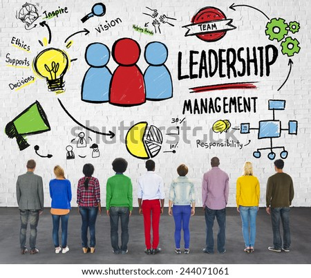 Diversity People Leadership Management Corporate Aspiration Concept