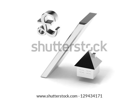 divided concept - stock photo