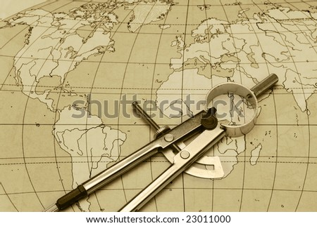 divider and card - stock photo