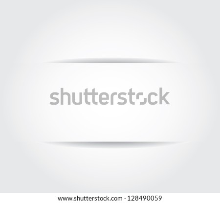 Dividers, Isolated On Grey Background - stock photo