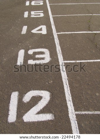 dividing number on stadium