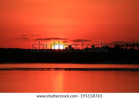 Divine Sunrise  - stock photo