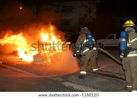 Division Ave. Vehicle Fire