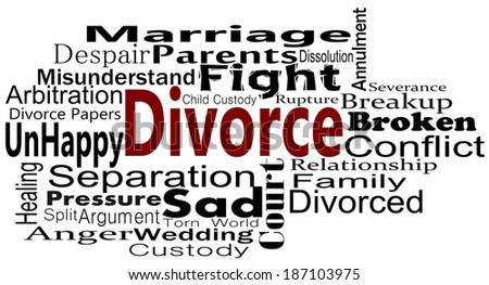 Divorce - stock photo