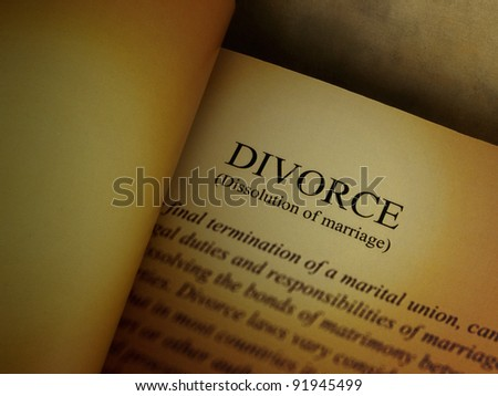Divorce papers, Legal documents